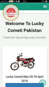 Lucky Cometi poster