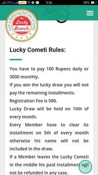 Lucky Cometi screenshot 3