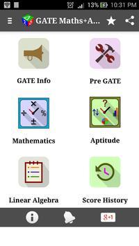 GATE (Maths+Aptitude) poster