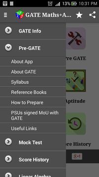 GATE (Maths+Aptitude) screenshot 1