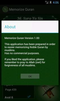Memorize Quran apk screenshot
