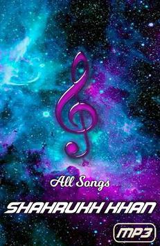 All Songs Shahrukh Khan Mp3 screenshot 1