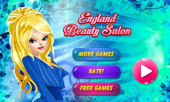 England Beauty Salon poster