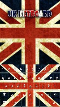 UK Keyboard Theme apk screenshot
