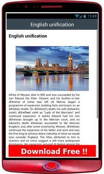 England History screenshot 1