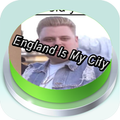 England is my city button Pro icon