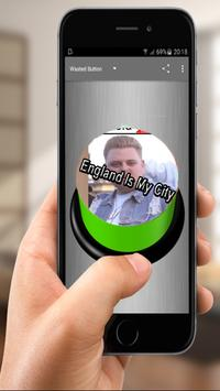 England is my city button Pro poster