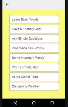 Learn Malayalam to English: Speak English Fluently screenshot 5