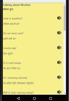 Learn English from Nepali -Speak Nepali to English screenshot 5