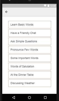 Learn English in Pashto - Speak Pashto to English screenshot 7