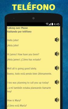 Aprende Ingles: Spanish to English Speaking screenshot 6