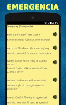 Aprende Ingles: Spanish to English Speaking screenshot 9