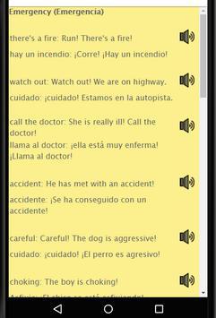 Aprende Ingles: Spanish to English Speaking screenshot 15