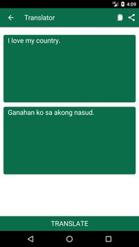 English to Cebuano Dictionary and Translator App screenshot 1