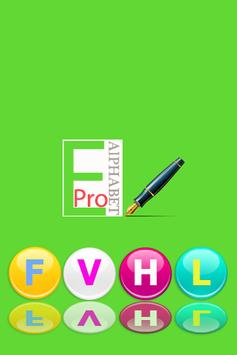 English Alphabet Pro poster
