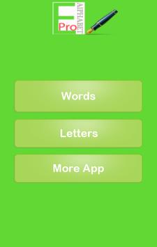 English Alphabet Pro screenshot 1