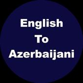 English to Azerbaijani Dictionary & Translator icon