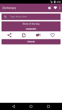 English to Bosnian Dictionary and Translator App poster