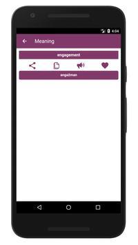 English to Bosnian Dictionary and Translator App screenshot 4