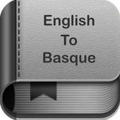 English to Basque Dictionary and Translator App icon