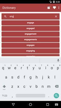 English to Georgian Dictionary and Translator App screenshot 2