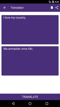 English to Estonian Dictionary and Translator App screenshot 1