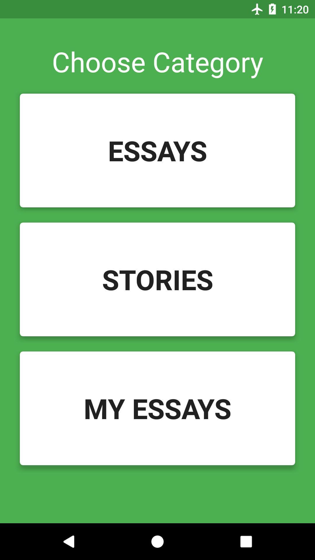 english essay for android   apk download english essay  english essay