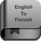 English to Finnish Dictionary and Translator App icon