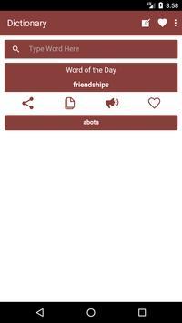 English to Hausa Dictionary and Translator App poster