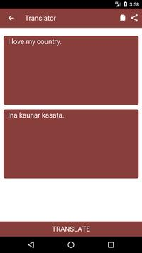 English to Hausa Dictionary and Translator App screenshot 1