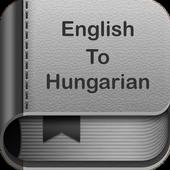 English to Hungarian Dictionary and Translator App icon