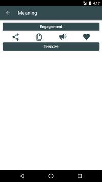 English to Hungarian Dictionary and Translator App screenshot 3