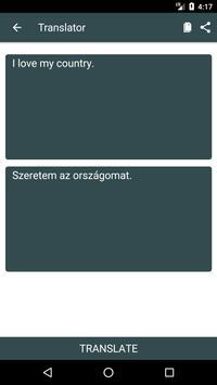 English to Hungarian Dictionary and Translator App screenshot 1