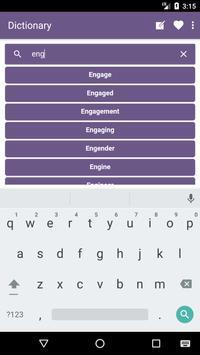 English to Indonesian Dictionary and Translator apk screenshot