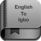 English to Igbo Dictionary and Translator App icon