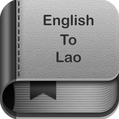 English to Lao Dictionary and Translator App icon
