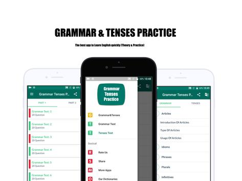 Grammar & Tenses (Theory & Practice) poster