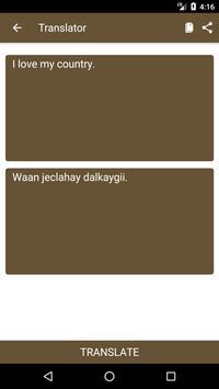 English to Somali Dictionary and Translator App screenshot 1
