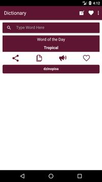 English to Shona Dictionary and Translator App poster
