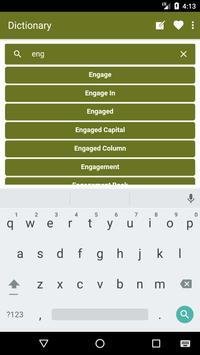 English to Sinhala Dictionary and Translator App screenshot 2