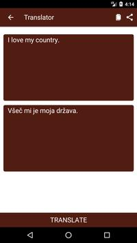 English to Slovenian Dictionary and Translator App screenshot 1
