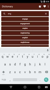 English to Slovenian Dictionary and Translator App apk screenshot