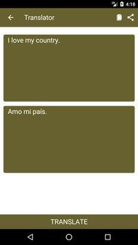 English to Spanish Dictionary and Translator App screenshot 1