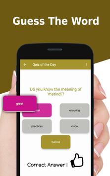 Persian English Dictionary - Free translator app apk screenshot