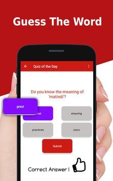 Urdu to English Dictionary - Translator app apk screenshot
