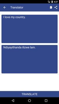 English to Xhosa Dictionary and Translator App screenshot 1