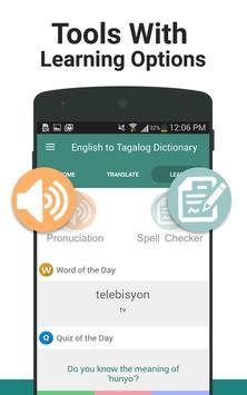 English to Tagalog Dictionary screenshot 2