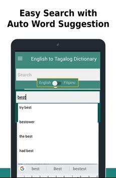 English to Tagalog Dictionary screenshot 5
