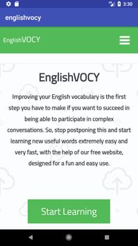Learn English poster