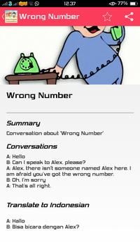Daily English Conversation apk screenshot